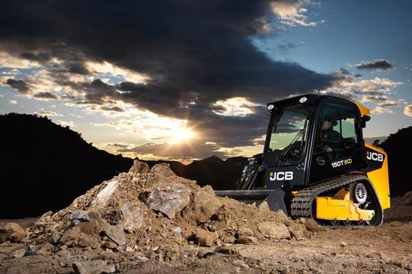 JCB 150T Compact Track Loader, Mini Track Loader, Skid Steer Loader