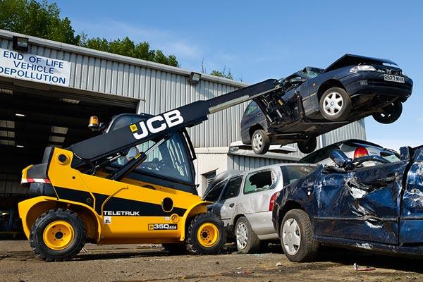 JCB 35D Teletruks, Industrial Forklifts, JCB Forklift