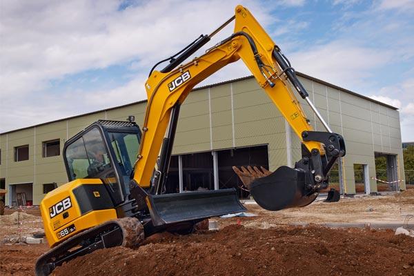 JCB 65 R-1 Mini Excavator, 6 Ton Excavator for Sale