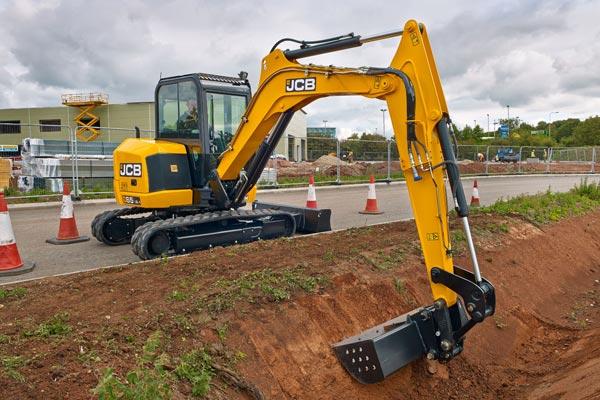 JCB 65 R-1 Small Excavator, 6 Ton Excavator for Sale