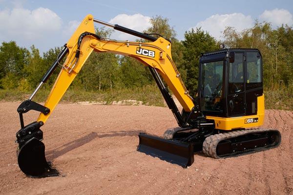65R Compact Excavator, 6 Ton Excavator