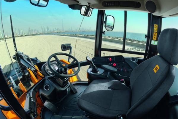 455 ZX Wheel Loader Interior