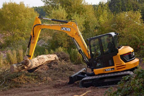 JCB Mini Excavator Mini Digger 100C-1