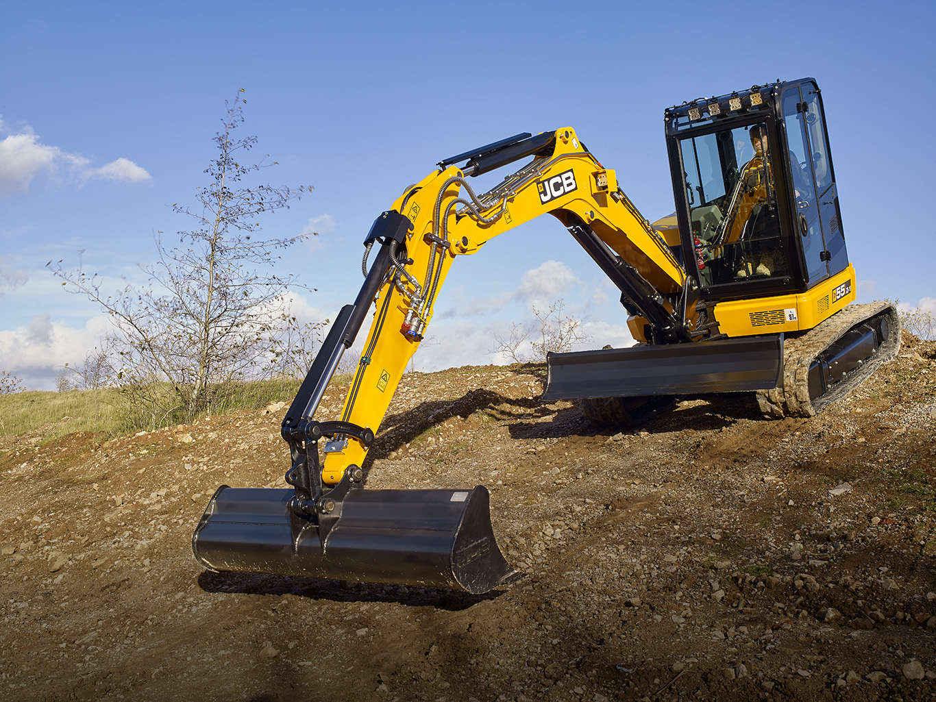 next generation mini excavators unveiled by jcb