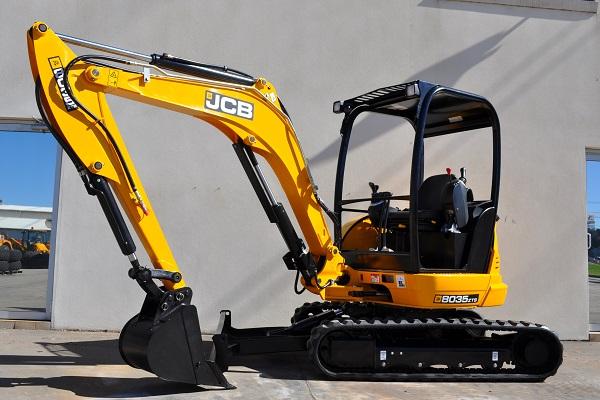 JCB 8035 Zero Swing Compact Excavator, 3.5 Tonne Excavator for Sale
