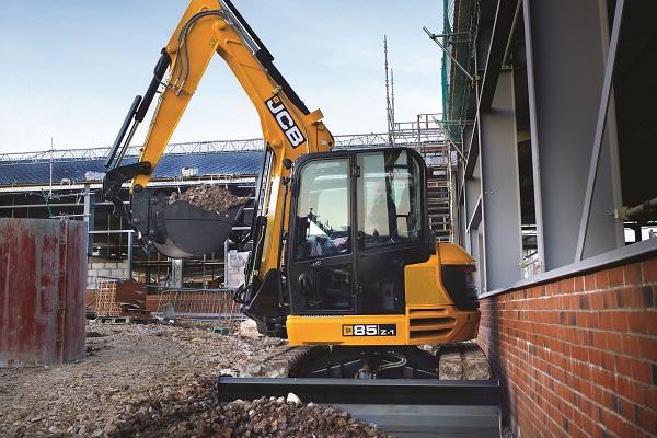 JCB 85Z-1 7 Tonne Excavator, 8 Tonne Compact Excavator for Sale