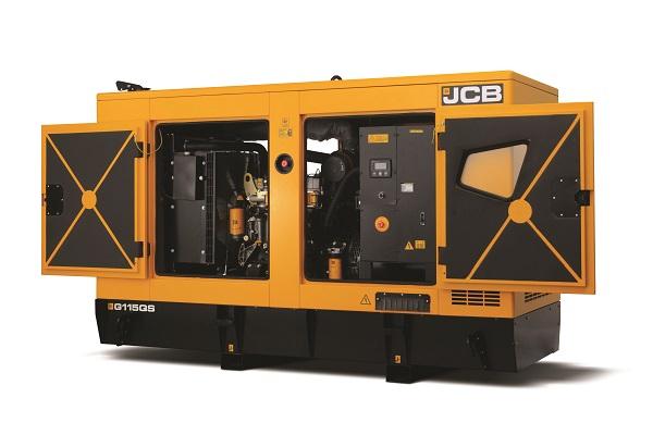 G115QS open JCB Diesel Generator